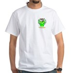 Halpeny White T-Shirt