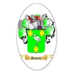 Halpeny Sticker (Oval)