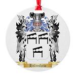 Halmshaw Round Ornament