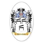 Halmshaw Sticker (Oval)
