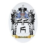 Halmshaw Ornament (Oval)
