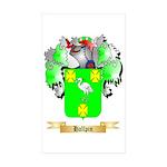 Hallpin Sticker (Rectangle 50 pk)