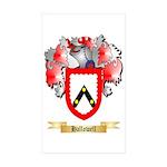 Hallowell Sticker (Rectangle 50 pk)