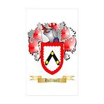 Halliwell Sticker (Rectangle 50 pk)
