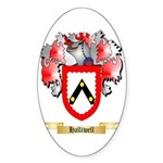 Halliwell Sticker (Oval 10 pk)