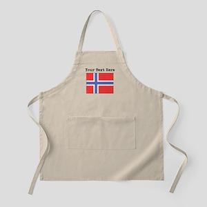 Custom Norway Flag Apron