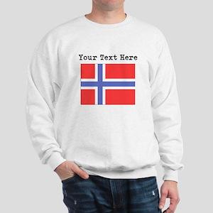 Custom Norway Flag Sweatshirt