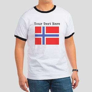 Custom Norway Flag T-Shirt