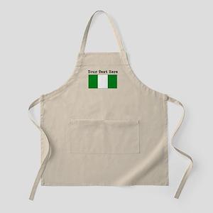 Custom Nigeria Flag Apron