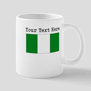 Custom Nigeria Flag Mugs