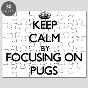 Keep calm by focusing on Pugs Puzzle
