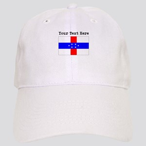 Custom Old Netherlands Antilles Flag Baseball Cap