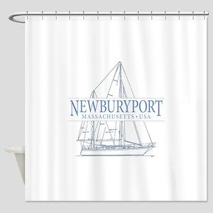 Newburyport MA - Shower Curtain