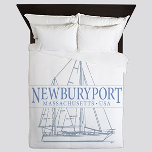 Newburyport MA - Queen Duvet