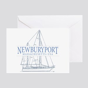 Newburyport MA - Greeting Card