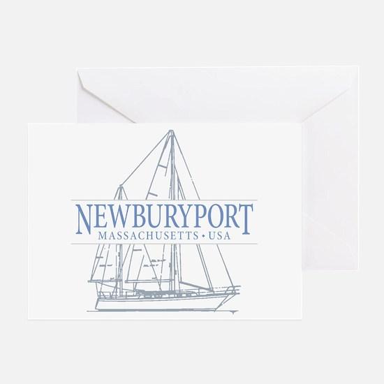 Newburyport MA - Greeting Card
