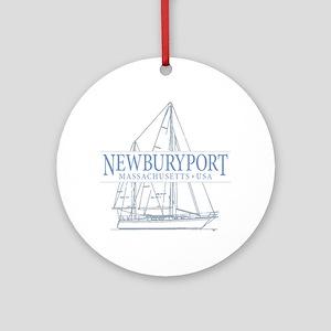 Newburyport MA - Ornament (Round)