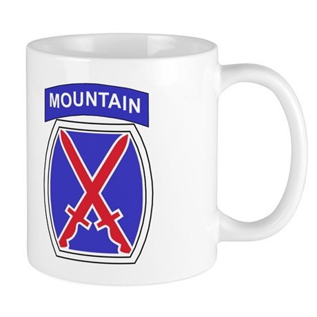 10th Mountain Division<BR>LtCol Coffee Cup
