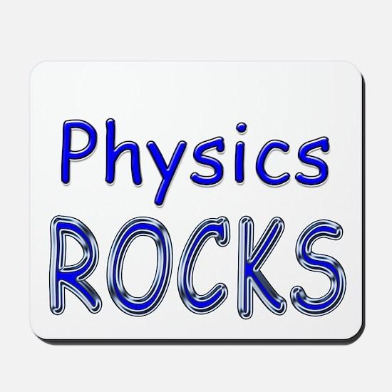 Physics Rocks Mousepad