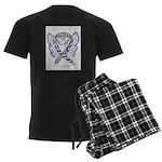 Zebra Awareness Ribbon Pajamas