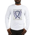 Zebra Awareness Ribbon Long Sleeve T-Shirt