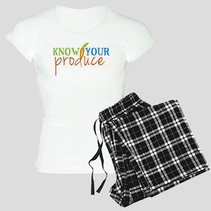 Know Your Produce Logo Pajamas