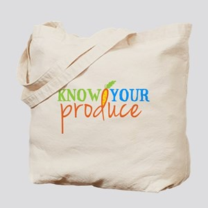 Know Your Produce Logo Tote Bag