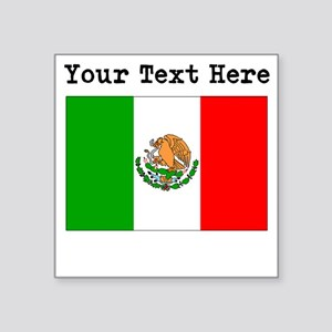 Custom Mexico Flag Sticker