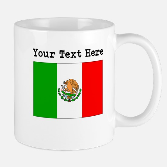 Custom Mexico Flag Mugs