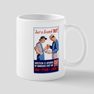 Just a Scratch Mugs