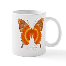 Summer Orange Butterfly Mug