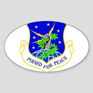 USAF Air Force 91st Missile Wing Shield Sticker