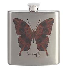 Talisman Black Butterfly Flask