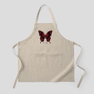 Talisman Black Butterfly Apron