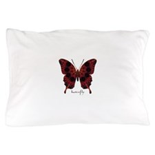 Talisman Black Butterfly Pillow Case