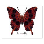 Talisman Black Butterfly Small Poster