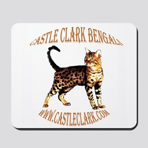 Castle Clark Bengal Cat: Raja Mousepad