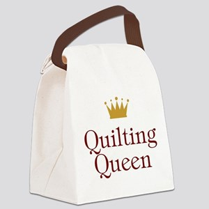 QueenQuilting Canvas Lunch Bag