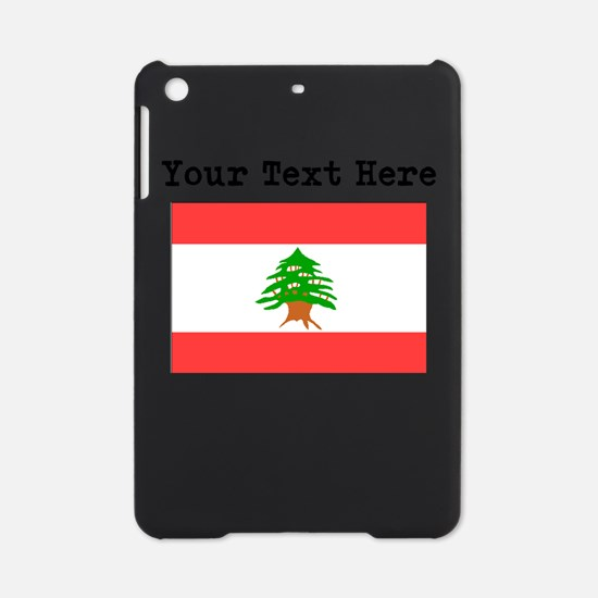 Custom Lebanon Flag iPad Mini Case