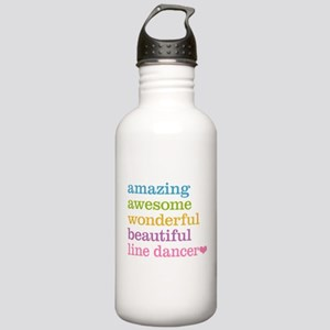 Line Dancer Stainless Water Bottle 1.0L