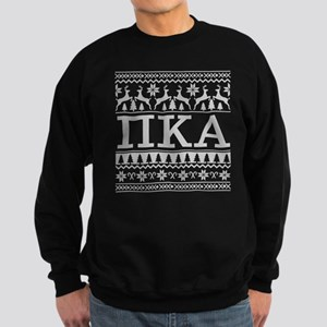 Pi Kappa Alpha Ugly Christmas Sweatshirt (dark)