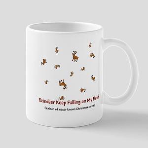 Falling Reindeer Mugs