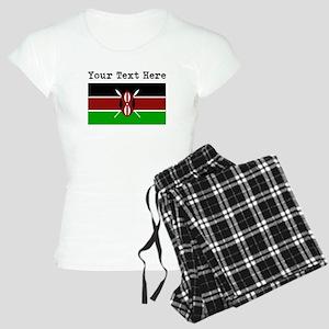Custom Kenya Flag Pajamas