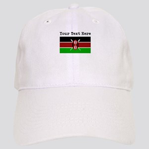 Custom Kenya Flag Baseball Cap
