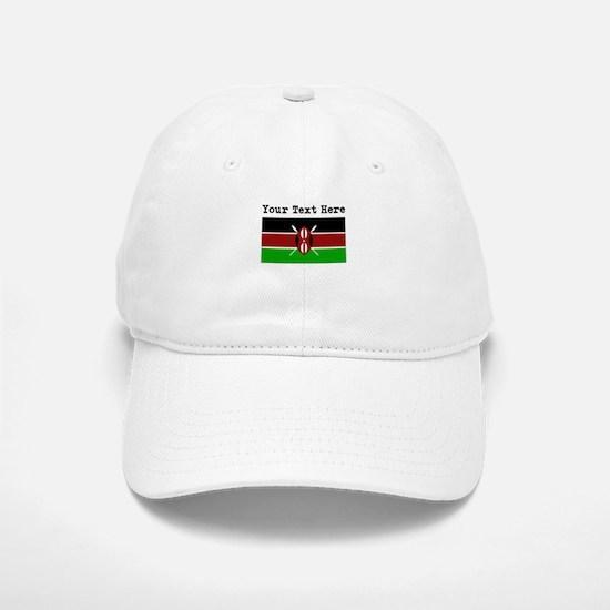 Custom Kenya Flag Baseball Baseball Baseball Cap