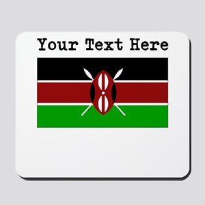 Custom Kenya Flag Mousepad