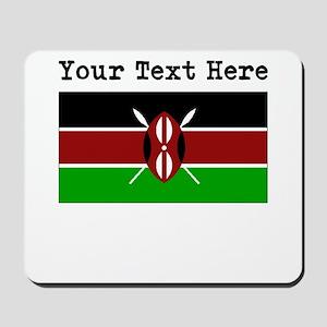 Custom Kenya Flag Mousepad