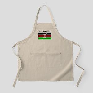 Custom Kenya Flag Apron