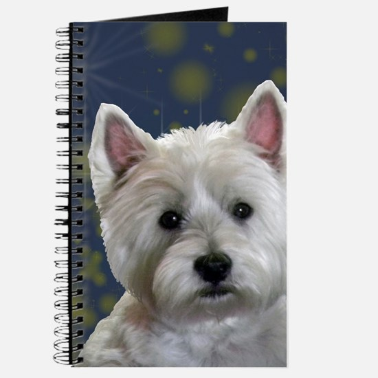 Unique West highland white terrier Journal