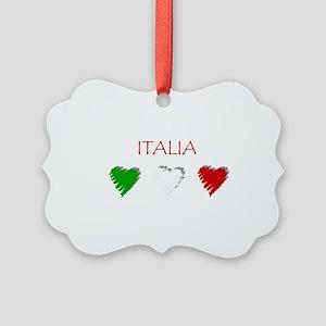 Italia Hearts Ornament